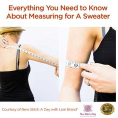 A Guest Post: Everything You Wanted to Know About Measuring for a Sweater   Free Sweater Planning Guide