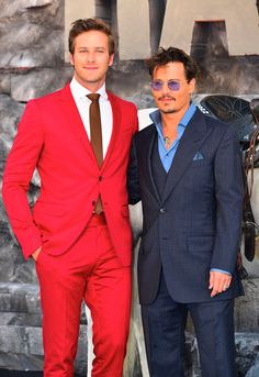 Armie Hammer & Johnny Depp