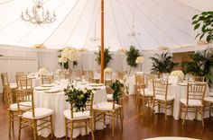 Tented wedding reception in Newburyport, MA by Amy McLaughlin Lifestyles #Newburyport #newburyportwedding #tentedwedding #bostonwedding #AmyMcLaughlinLifestyles