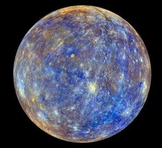 This is the clearest picture of Mercury that has ever been taken