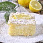 Lemon Cake with Yogurt & Crumble / Greek yogurt coffee cake. Lemon Recipes, Greek Recipes, Low Calorie Cake, Pudding Cake, Dessert Recipes, Desserts, Cake Cookies, Cupcakes, Coffee Cake