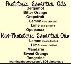 Photo toxic EO's
