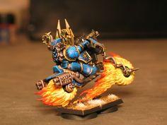 Tzeentch Sorceror Lord. - Painting - 40K Online