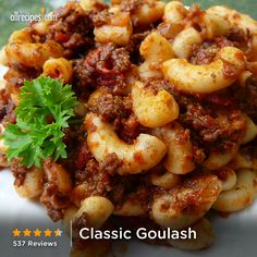 Classic Goulash | This American-style hot dish from the Midwest makes an easy one-pot meal for the whole family.