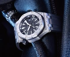 The Audemars Piguet Royal Oak Offshore Diver is Piguet's first serious entry into the diving watch market. The Offshore Diver surpasses Swiss diving watch standards, is equipped with a 3120 Calibre automatic movement that has a 60-hour power reserve and a 22k gold rotor. Suggested Retail US$15,200 (Model #15703ST.OO.A002CA.01) Product Details Item number: 26020ST.OO.D001IN.01 Brand: …