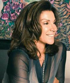 Layered hairstyle - Hilary Farr