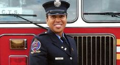 """""""Regina Wilson is one of only 29 woman firefighters in New York City, which has over 10,000 firemen. Wilson, a black woman, and the members of Engine 219 were among the first responders to the September 11th attacks at the World Trade Center in New York."""" #TodayInBlackHistory"""