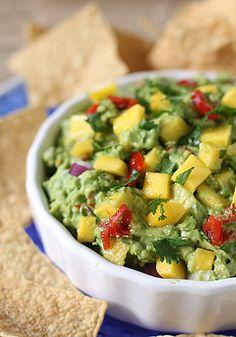 Guacamole de mango