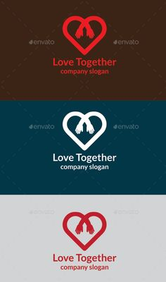Love Together - Logo Design Template Vector #logotype Download it here: http://graphicriver.net/item/love-together-logo/11992132?s_rank=636?ref=nexion