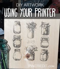 Get Creative with Your Printer and Wax Paper