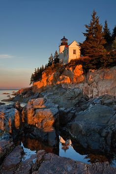 Bass Harbor Maine. Where I spent many summers as a child camping with my family.
