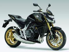 Honda CB1000R black and gold