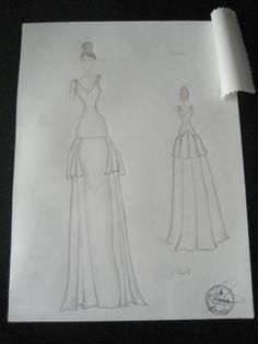 89 Illustrations Bocetos De Imágenes Mejores Vestidos Fashion C8wxCfqZan