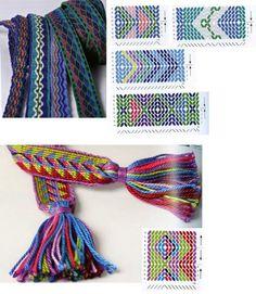 Заправочные дошечки - m_mama — LiveJournal Inkle Weaving, Inkle Loom, Card Weaving, Weaving Art, Tablet Weaving Patterns, Fun Loom, Finger Weaving, Hugo Weaving, Loom Craft