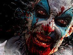 The disturbing horror portraits of Danielle Tunstall (NSFW) Gruseliger Clown, Halloween Clown, Creepy Clown, Creepy Dolls, Halloween Horror, Happy Halloween, Clown Posse, Insane Clown, Creepy Carnival