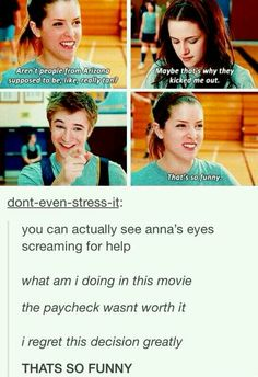 You can see Anna's regret.