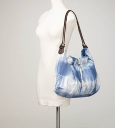 Tie dye bag in blue <3