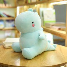 Dinosaur Plush Toys Kawaii - Cartoon Videos Kids For 2019 Cute Dinosaur, Dinosaur Toys, Giant Dinosaur, Cute Stuffed Animals, Dinosaur Stuffed Animal, Doll Toys, Pet Toys, Cartoon Toys, Baby Dinosaurs