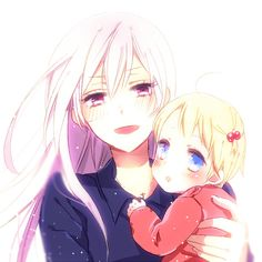 DAY 18: I wouldn't mind if female Prussia was my parent because she'll raise me to be awesome like her.