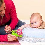 Activities for Babies: 0 to 6 Months (via Parents.com)