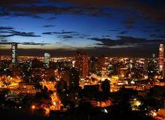 Bogota Spanish Pronunciation, Night Fever, Dark Night, Best Memories, South America, Perfect Place, New York Skyline, Travel Destinations, Places To Go