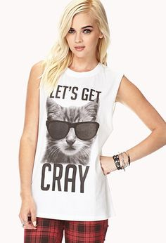 Get Cray Muscle Tee | Forever 21 - 2051930876
