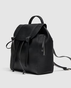 Image 2 of MONOCHROME BACKPACK from Zara