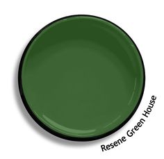 Resene Green House is a vigorous green, full of life and abundance. From the Resene Heritage colours collection. Try a Resene testpot or view a physical sample at your Resene ColorShop or Reseller before making your final colour choice. www.resene.co.nz Green House Color, Green House Paint, Wall Colors, Paint Colors, Colours, Interior Cladding, House Painting, True Colors, Abundance