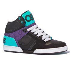 Osiris NYC 83 Hi- black/teal/purple