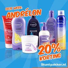 Ben jij op zoek naar shampoo voor krullend haar? Een haarmasker? Heb jij je pluizig haar? Wil je je haren wassen met shampoo voor geverfd haar? Heb je een gevoelige hoofdhuid? Of zoek jij een shampoo voor droog haar, beschadigd haar of juist een anti-roos shampoo? Voor ieder haartype of iedere haarwens kan je bij Andrélon terecht!  Deze week 20% KORTING op het gehele Andrélon assortiment!  Shop snel op www.stuntpakker.nl