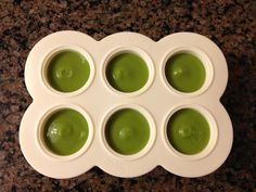 #babybullet Baby loves peas, probably because they were made fresh. Who wouldn't want to eat this? Looks yummy! #babyfood