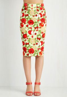 Apple of My Style Skirt, @ModCloth