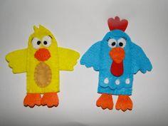 Dedoches tema galinha pintadinha