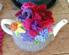 Ravelry: Spring Explosion Tea Cozy! pattern by Alice Best