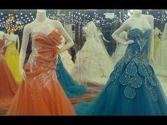 97d9854a2832b اروع موديلات فساتين خطوبة و شبكة للعروسة بدلات اعراس ملونة wedding dresses  2017 - YouTube