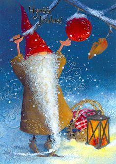 Rumy Luider, Christmas card 10 x15, Finland