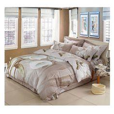 Cotton Active floral printing Quilt Duvet Sheet Cover Sets Size 51