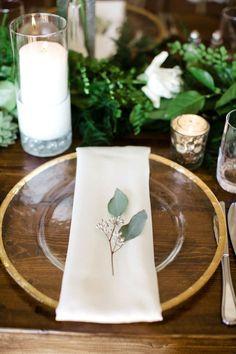 A Rustic Elegant Asheville Wedding via TheELD.com | Anna Paschal Photography