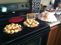 "Duck dynasty baby shower ""Ducks""/pigs in a blanket"