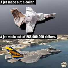 More schools. Fewer fighter jets.