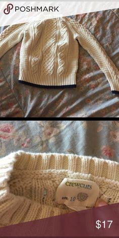 Boys crewcuts 100% cotton fisherman's sweater Jcrew crewcuts boys cotton fisherman sweater. Worn 1x. J. Crew Other
