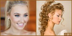 10 Makeup and Hairstyle Combos To Flaunt At A Winter Wedding   http://www.salongenie.net/blog/10-makeup-hairstyles-for-winter-wedding/