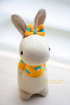 Grace--#381 sock Domy Rabbit