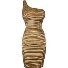 PacificPlex Gold One-Shoulder Satin Sheath Dress Junior Plus Size, Plus Size Beauty, Sheath Dress, Designer Dresses, One Shoulder, Dress Up, Satin, Giza, Flats