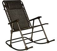 Incredible Bliss Hammocks Folding Rocking Chair With Headrest M55650 Squirreltailoven Fun Painted Chair Ideas Images Squirreltailovenorg