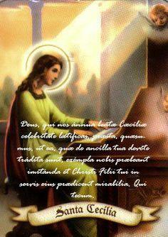 22 novembre santa Cecilia