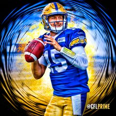 Matt Nichols, Winnipeg Blue Bombers Football Players, Football Helmets, Winnipeg Blue Bombers, Canadian Football League, Western Canada, Football Pictures, Nfl Fans, Blue Gold, Nhl