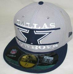 Mens Dallas Cowboys Logo Zoom Team 59Fifty Hat New Era. $36.95