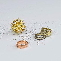A little sparkle never hurt anyone! #katiedesignjewelry #jewelry #newyear