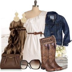 She's Country, created by fashiongirl18 on Polyvore